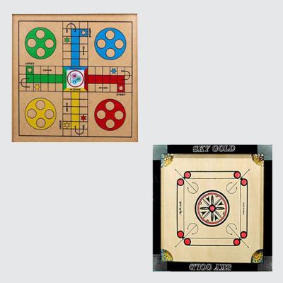 Indoor game - LUDOO Board & Carrom Games